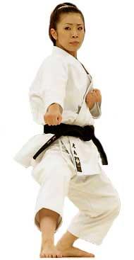 Karate Woman - Oshima JKA