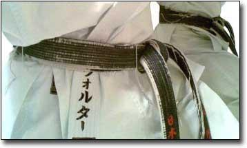 Karate Belts Action