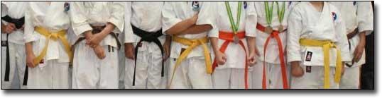 Karate Belts Kyu Grades