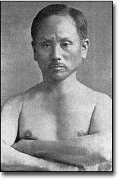 Gichin Funakoshi Arms Folded