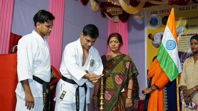 Inauguration of Karate Camp