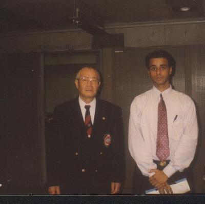 In Tokyo with Kamiyanagi Shihan 9th dan WSKF President
