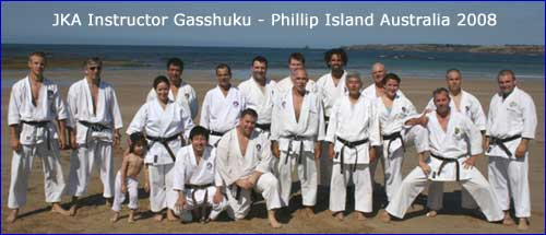 JKA Instructor Gasshuku 08