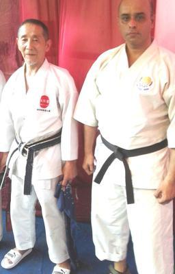 Ishikawa Shihan with Arijit Chakraborty