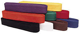 Karate Belts Colors