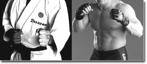 Karate v MMA