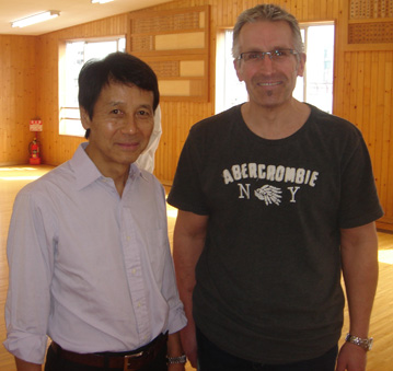 With Kawazoe Sensei at JKA Sohonbu Dojo - October 2011