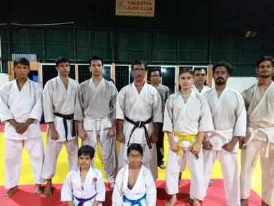 Group photo with Shihan Sarkar