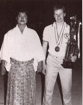 Aidan Sensei with Asano Shihan