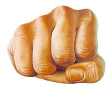 Karate Woman - Fist1