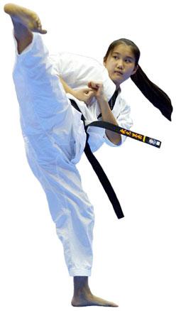 Karate Woman - Karate Girl