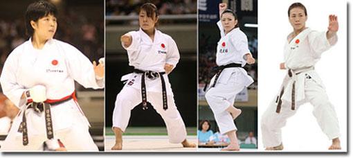 Karate Woman Montage 3