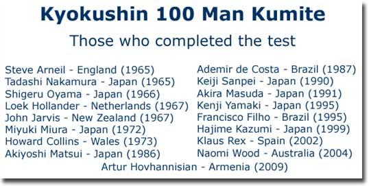 Kyokushin Karate - 100 Man Kumite - The Ultimate Test