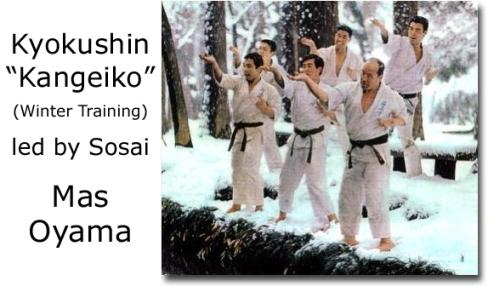 Kyokushin Karate Winter Training
