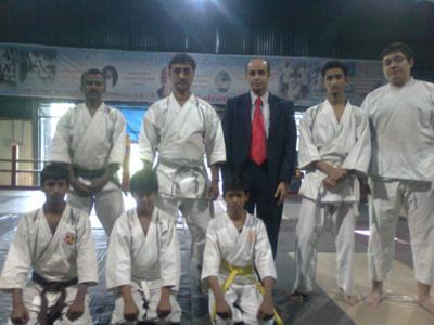 With AISKA Team & Sensei Sarkar