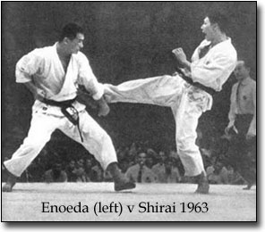 Shotokan Tiger Enoeda Shirai