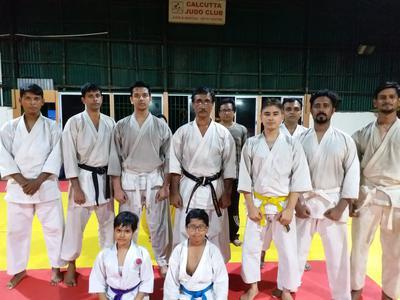 Group photo with Shihan Sarkar
