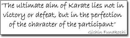 Ultimate Aim of Karate